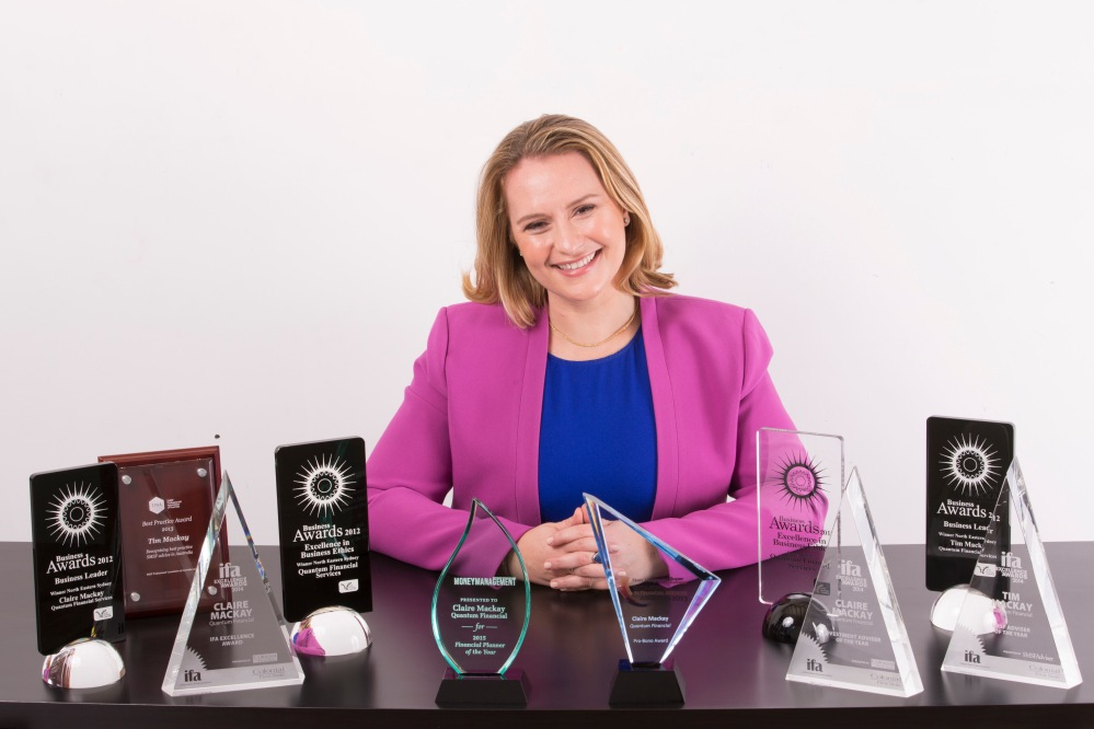 Claire Mackay - SMSF Expert and Australia's Most Awarded Independent Financial Planner